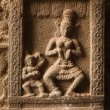 Stock Photo: Bas reliefs in Hindue temple. Arunachaleswar Temple. Thiruvannam