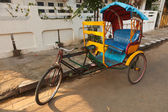 Bicycle rickshaw — Stock Photo