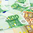 Background from  euro banknotes — Foto de Stock