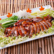 Roasted duck, Chinese style - Stock Photo