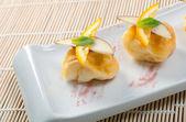 Fruta de sobremesa japonesa — Foto Stock