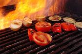 Matlagning grönsaker grill — Stockfoto