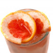 Grapefruit cocktail  closeup - Stock Photo