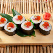 Assorted sushi Japanese food - Foto Stock
