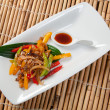 Japanese Stir Fried Vegetables - Stockfoto