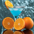Tropical cold cocktail - Stock Photo