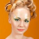 Portrait of beautiful girl blonde — Stock Photo #6276103