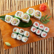 Japanese sushi Roll made of Smoked fish — Stock Photo #6276311