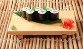 Japanese sushi closeup — Stock Photo