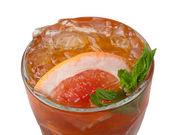 Grapefruit cocktail closeup — Stock Photo