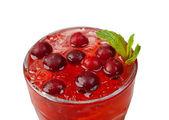 Tranbär cocktail närbild — Stockfoto