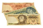 Polish money — Stock Photo