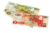 Money of Zambia — Stock Photo