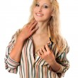 Smiling young blonde — Stock Photo #5634124