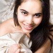 Portrait of a smiling girl — Stock Photo