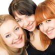 Portrait of three women — Stock Photo