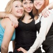 Royalty-Free Stock Photo: Three beautiful young women