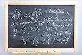Equations and formulas — Stock Photo