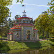 Pavilion in Chinese style in Tsarskoe Selo — Stock Photo