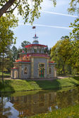 Pavilion in Chinese style in Tsarskoe Selo — Foto Stock