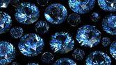 Set of round swiss blue topaz. Gemstone — Stock Photo