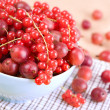 Red currants and gooseberries — Stock Photo