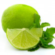 Stock Photo: Citrus with mint