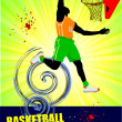 Basketball poster. Vector illustration — Stock Photo #5746831
