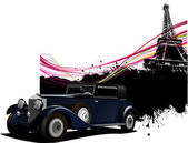 Paris image background — Stock Photo