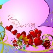 Valentine`s day. 14 February. Wedding  Greeting Card. Invitation — Stock Photo