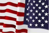 4th July – Independence day of United States of America. Ameri — Stockvektor