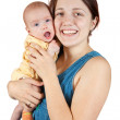 Mother with her baby — Stock Photo
