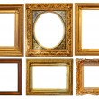 Set of picture frames — 图库照片