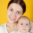 Mother with her baby — Stock Photo #5429530