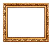 Luxury gold frame — Stock Photo