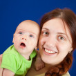 Happy mother with her little daughter — Stock Photo #5430852
