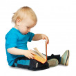 Boy with book — Stock Photo #5431294