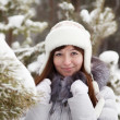 Woman in winter — Stock Photo #5431925