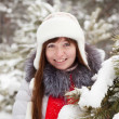 Winter portrait of woman — Stock Photo #5431946
