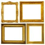 Set of few gold frame — Stock Photo #5432161