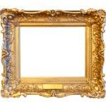 marco dorado — Foto de Stock