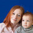 Portrait of mother with son — Stock Photo #5435248