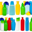 Toiletries bottle - Stock Photo