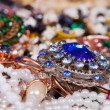 Jewellery background — Stockfoto