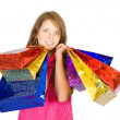 Girl with shopping bags — Stock Photo #5436167