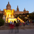Royalty-Free Stock Photo: National Palau of Montjuic at Barcelona