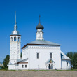 Voskresenskaya church  at Suzdal — Stock Photo