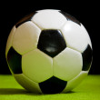 Classic soccer ball — Stock Photo