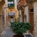 rue dans la vieille ville méditerranéenne — Photo