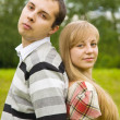Man and pretty girl — Stock Photo #5717135